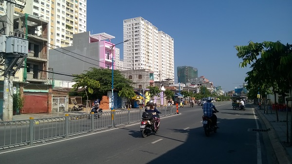 Hạ tầng phát triển tại quận Tân Phú